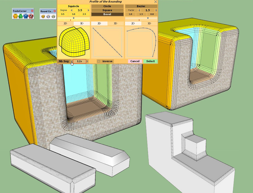 FredoCorner is the new SketchUp extension