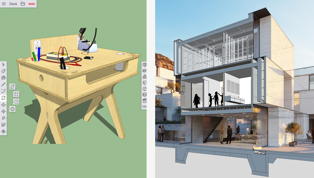 SketchUp for Web – Free vs Shop