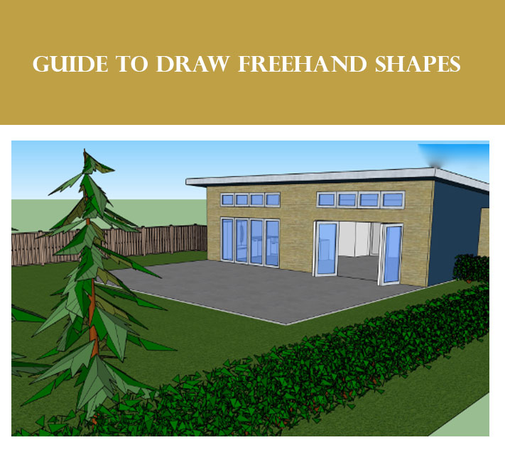 Guide to draw Freehand Shapes