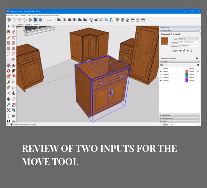 Review of Two inputs for the Move tool