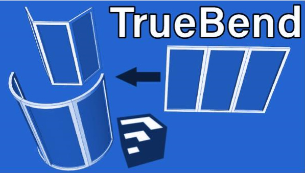 Sketchup Extension Review : TrueBend