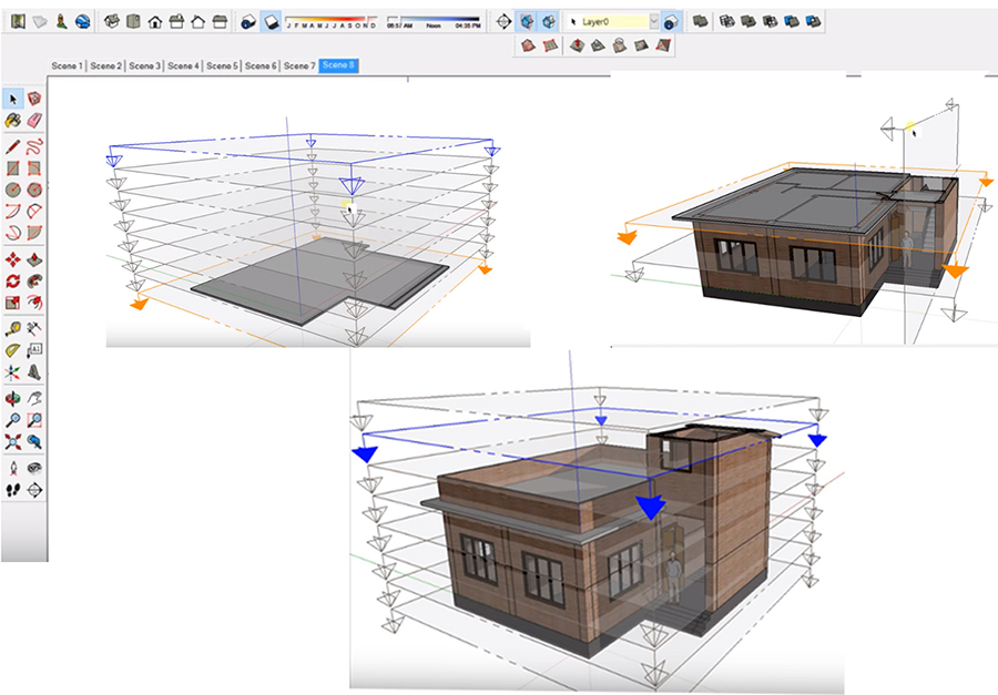 google sketchup machine design