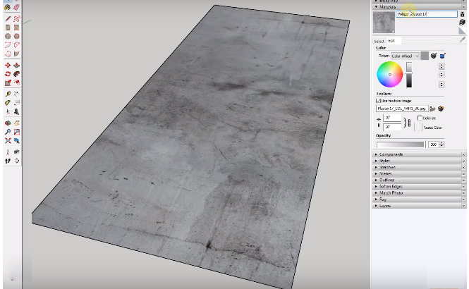 Custom Material Libraries using SketchUp