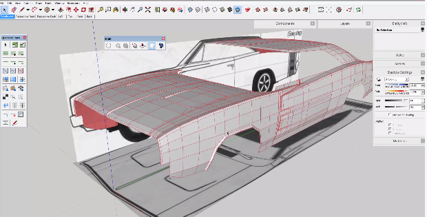 SubD Extension in SketchUp