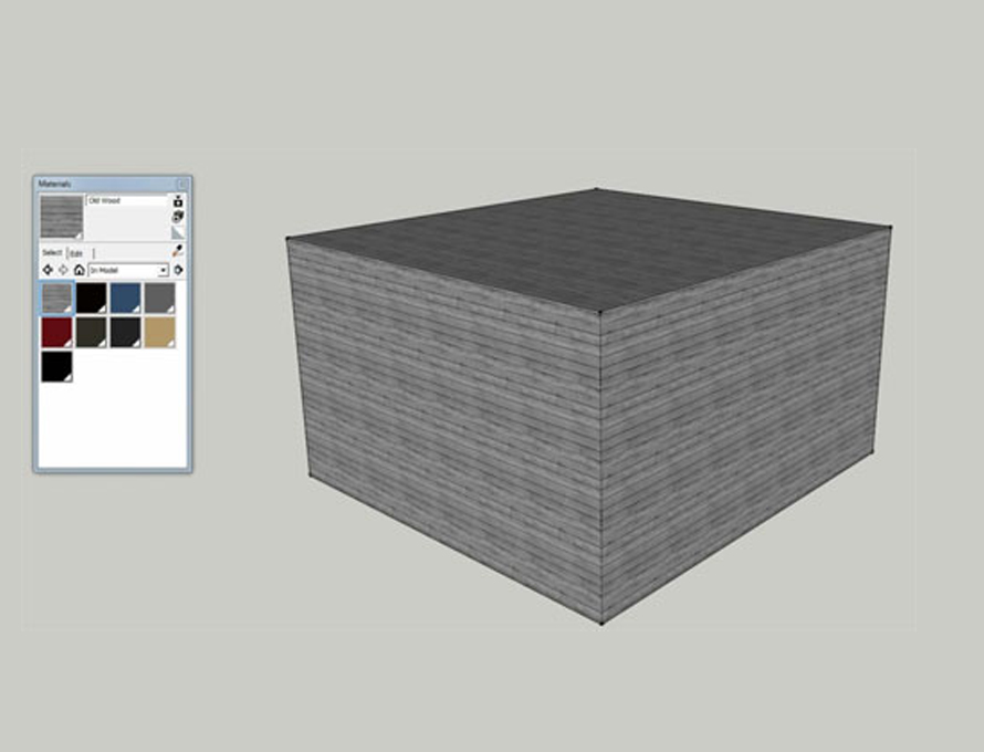 Importing SketchUp Textures & Creating Custom Materials