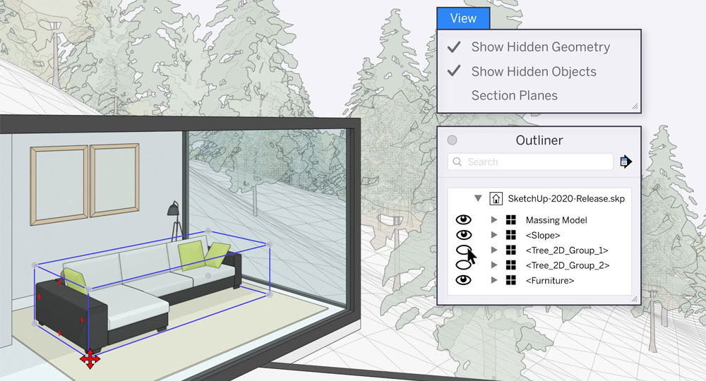 How SketchUp 2020 is more User-Friendly