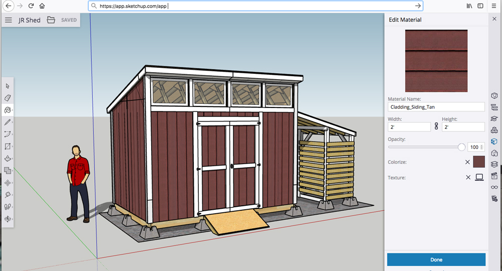 Need More Materials with SketchUp