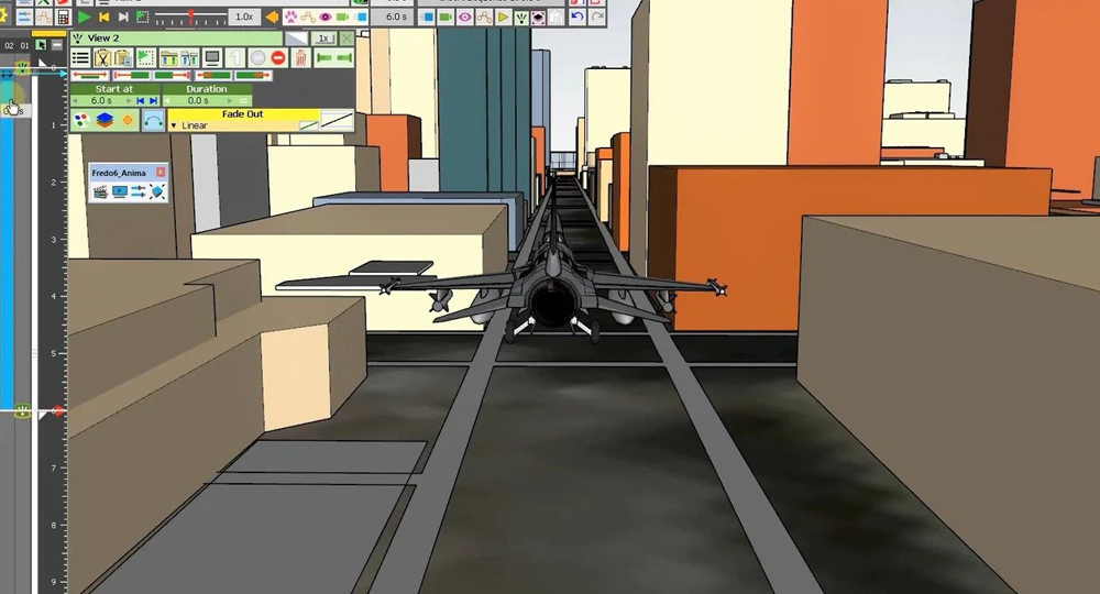 Exporting A Scene From SketchUp