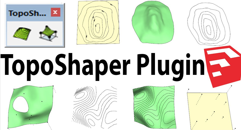 How To Use TopoShaper in Sketchup