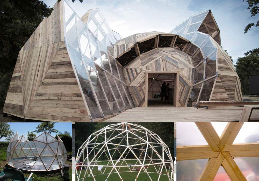DIY: Building a Geodesic Dome
