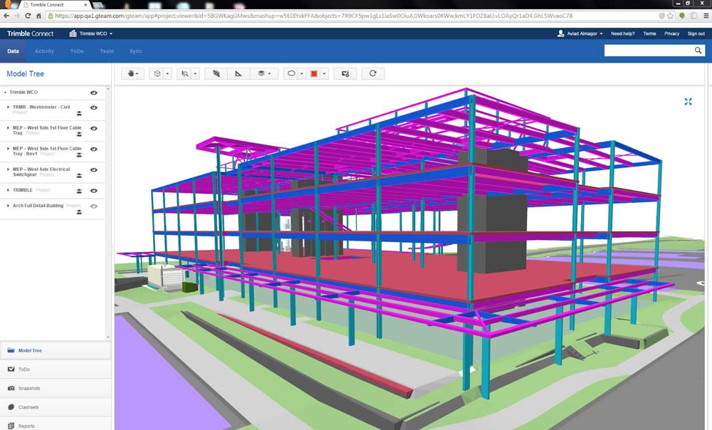 Trimble Connect with in SketchUp