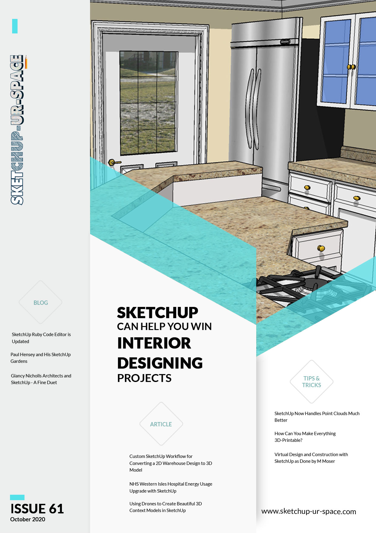 Sketchup-ur-space Magazine - October 2020