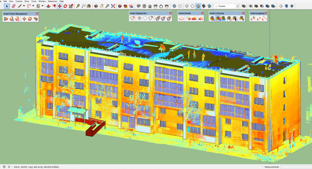 SketchUp Now Handles Point Clouds Much Better