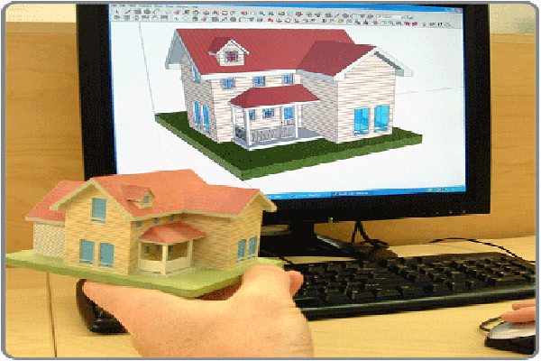 Bring ur idea to life in 3 dimension 3d printing and sketchup Making models for 3d printing