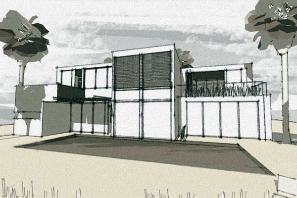 Google SketchUp Styles: Freehand-Pen-&-Marker-Style