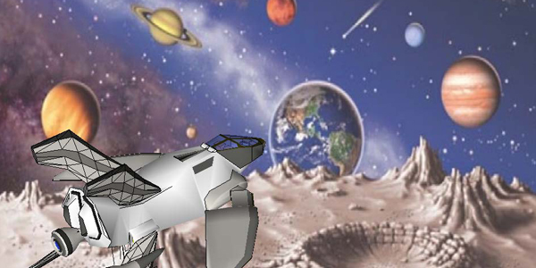 Spaceship to Mars Movie - Pics about space